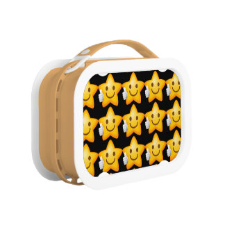 Starry Thumbs Up Emoji Lunch Box