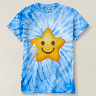 Starry Thumbs Up Emoji T-shirt