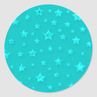 Starry Turquoise Sticker