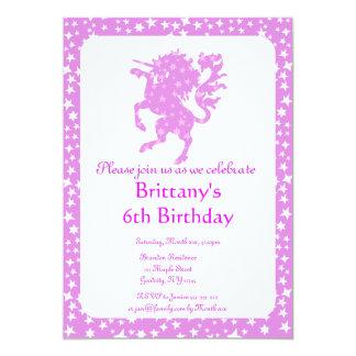 Starry Unicorn Card