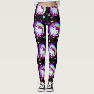 Starry Unicorn Magical Leggings
