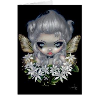 """Starry Wild Jasmine Fairy"" Greeting Card"