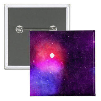 Stars 2 Inch Square Button