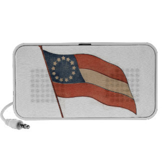 Stars and Bars Doodle Speakers by OrigAudio