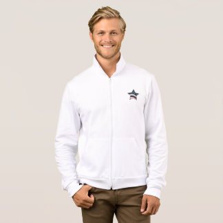 Stars and Bars Fleece Zip Jogger Jacket