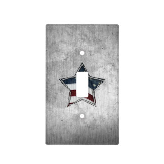Stars and Bars Outlet Cover