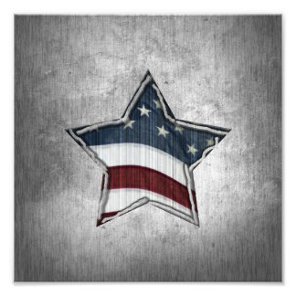 Stars and Bars Photo Print