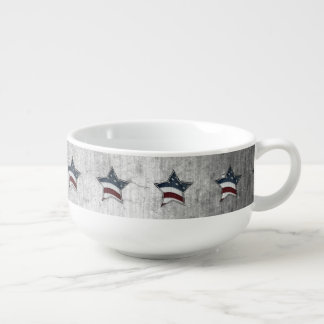 Stars and Bars Soup Mug