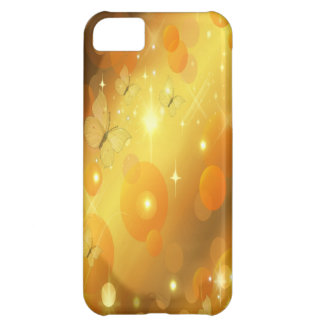 stars and butterflies iPhone 5C case