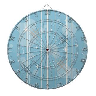 Stars and circles shapes dartboard