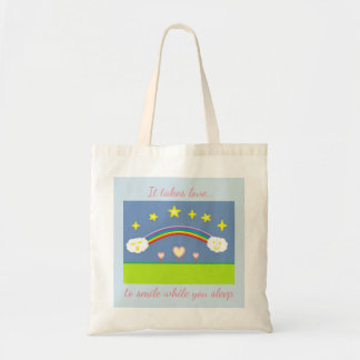 Stars and Clouds  Tote Bag