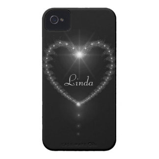 Stars and diamonds heart  BlackBerry Bold Case