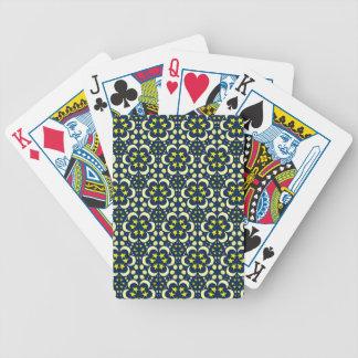 Stars and moon tessellation poker deck