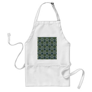 Stars and moon tessellation standard apron