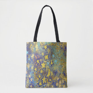 Stars and Moon Tote Bag
