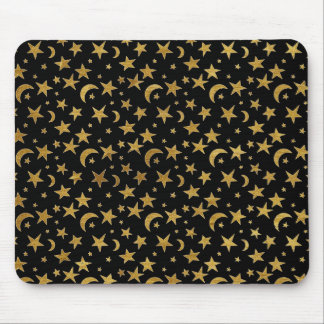 Stars and Moons Mouse Pad