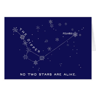 Stars and Snowflakes Card