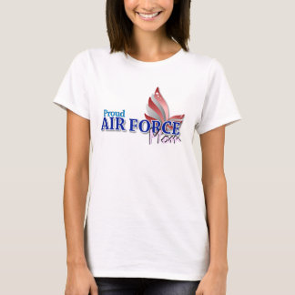 Stars and Stripes Air Force Mom T-shirt