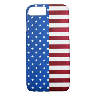 Stars and Stripes-American Flag by Shirley Taylor iPhone 8/7 Case