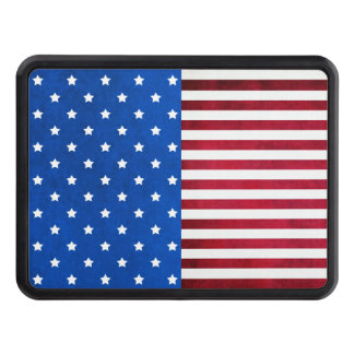 Stars And Stripes-American Flag Hitch Cover