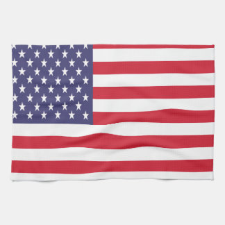 Stars and Stripes American Flag Kitchen Towel