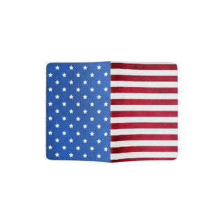 Stars And Stripes-American Flag Passport Holder
