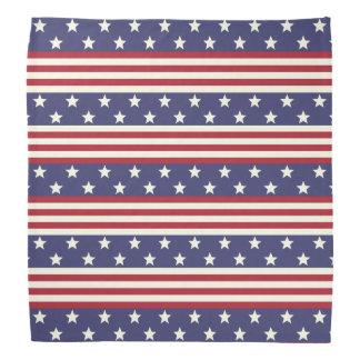 Stars and Stripes American Flag USA Patriotic Bandana