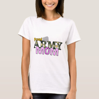 Stars and Stripes Army Mom T-shirt