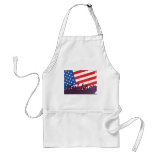 Stars And Stripes Audience Standard Apron