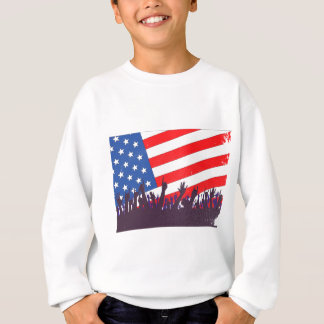 Stars And Stripes Audience Sweatshirt