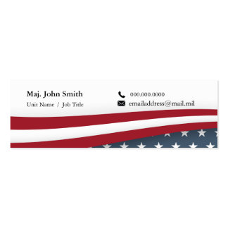 Stars and Stripes Business Card Mini