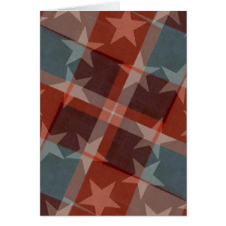 Stars and Stripes Card