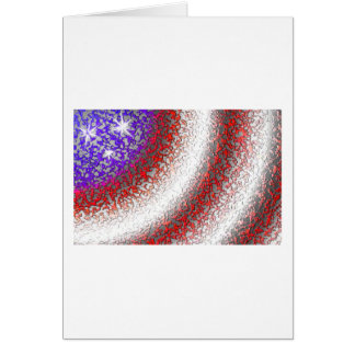Stars and Stripes Card (V)