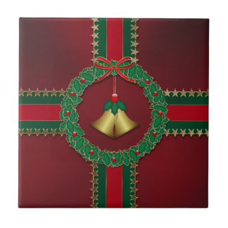 Stars and Stripes Christmas Trivet