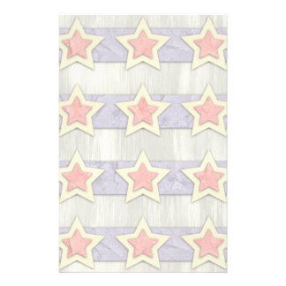 Stars And Stripes Cut Outs Stationery
