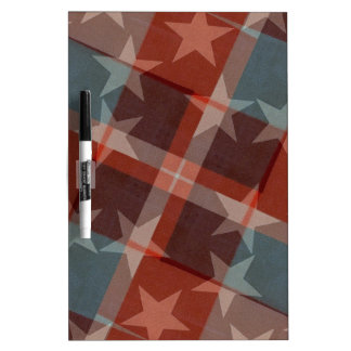 Stars and Stripes Dry Erase Whiteboard