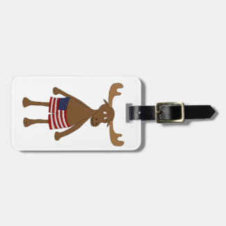 Stars and Stripes, Eh? Luggage Tag