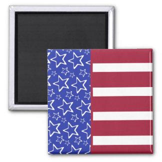 Stars And Stripes Flag Magnet