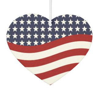STARS AND STRIPES FOREVER! (American flag design) Air Freshener