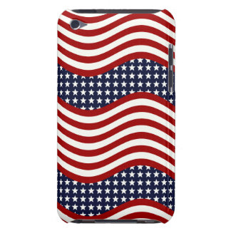 STARS AND STRIPES FOREVER! (American flag design) iPod Touch Case-Mate Case
