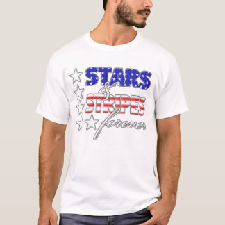 Stars and Stripes Forever Dark T-Shirt