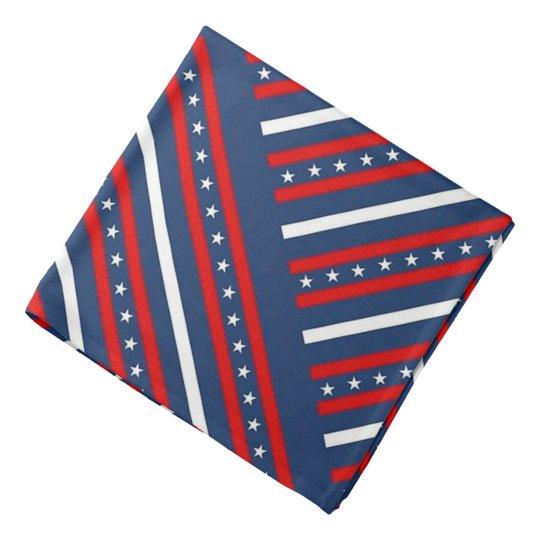 Stars and Stripes Head Kerchiefs