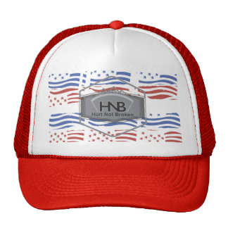 Stars and stripes HNB Trucker Hat
