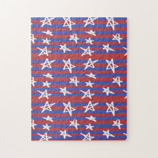 Stars and Stripes Jigsaw Puzzle