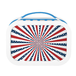 Stars and Stripes Lunchboxes