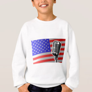Stars And Stripes Microphone Sweatshirt