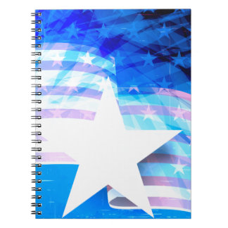 Stars and Stripes Notebooks