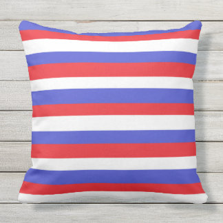 """""""Stars And Stripes"""" Outdoor Pillow"""