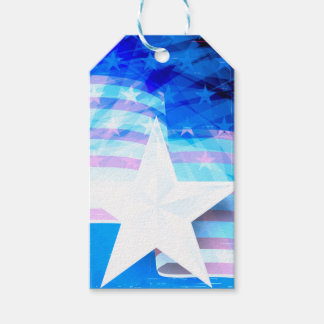Stars and Stripes Pack Of Gift Tags