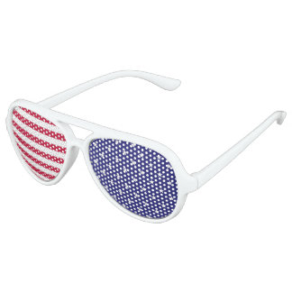 stars and stripes party glasses